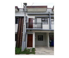 5.5M RFO Townhouse for SALE Amber Model Unit in Woodway Talisay