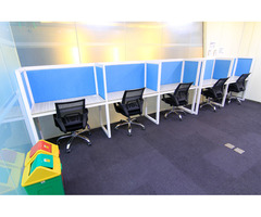 Fully Renovated and Furnished office for lease in Marquee Mall Pampanga