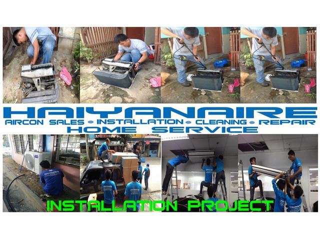 Cebu Aircon Cleaning Services in North Town Homes  Cebu City - 1