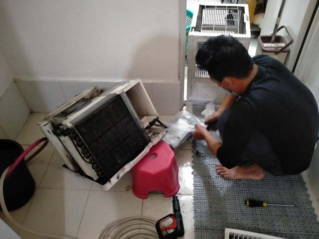 AIRCON CLEANING, REPAIR AND INSTALLATION - 3