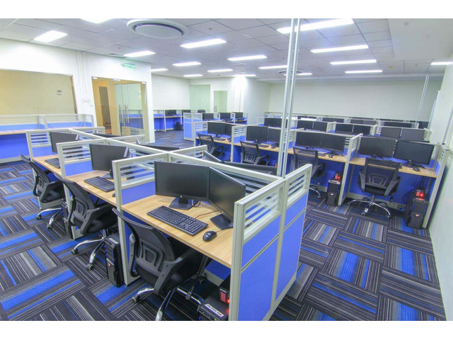 READY CALL CENTER OFFICE FOR LEASE IN ANGELES PAMPANGA 2021 - 2