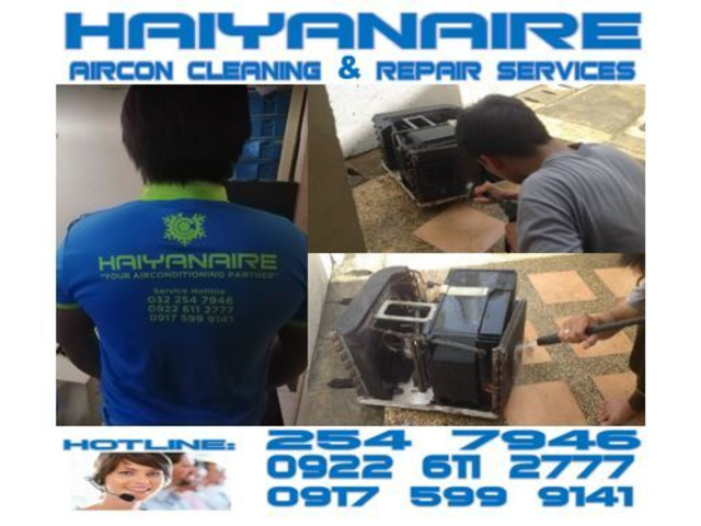 Cebu HAIYANAIRE Aircon Cleaning Services in Capitol Site Cebu City - 1