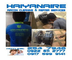 Cebu HAIYANAIRE Aircon Cleaning Services in Capitol Site Cebu City