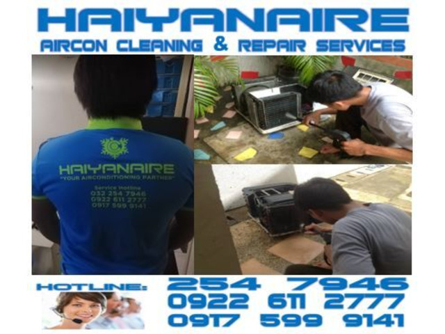 Cebu HAIYANAIRE Aircon Cleaning Services in Day‑as Cebu City - 1